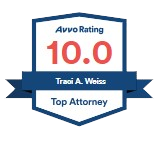 Avvo Rating 10.0 - Traci A. Weiss
